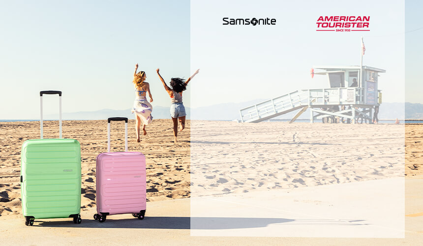 Summer Bags - Rolling Luggage